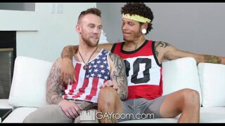 GayRoom – Jay Fine Pounds Damien Michaels with his 10 Inch Dick YedGayxxx