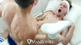 ManRoyale After tennis tight ass fuck with Timothy Drake and Beau Taylor YedGayxxx